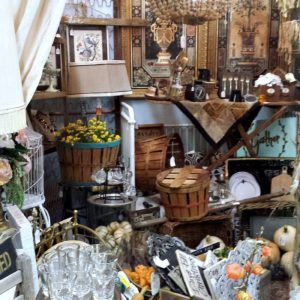 An Antique Shop In Texas And Butler's Antiques