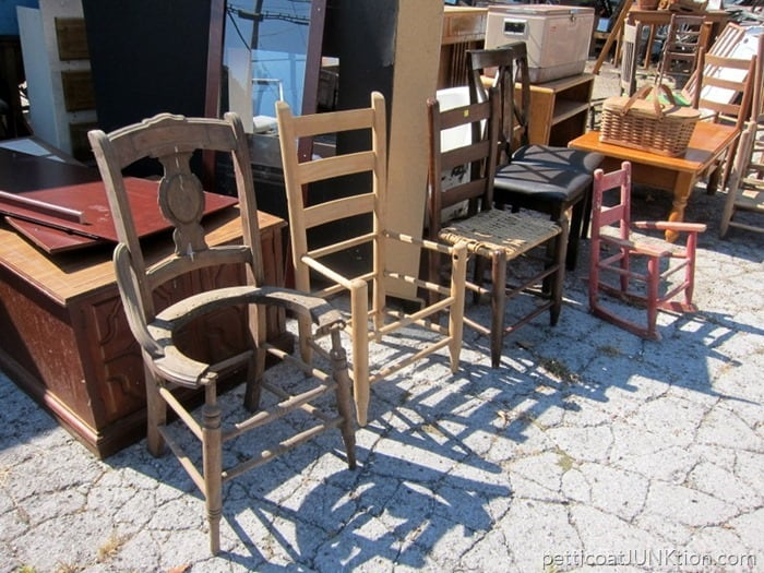 chairs and more chairs From My Favorite Junk Shop