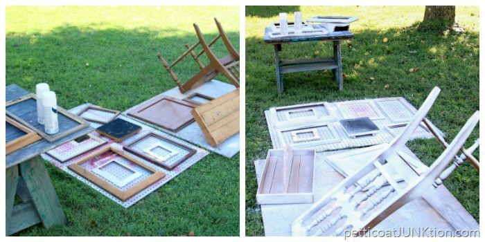 how to paint and distress home decor