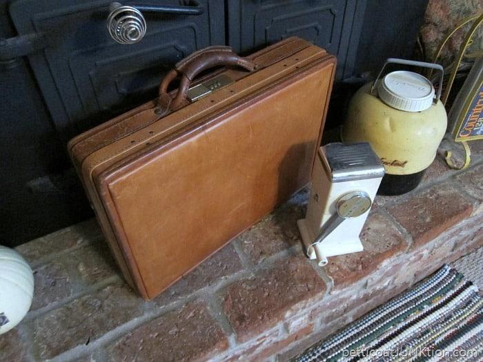 vintage Hartman briefcase