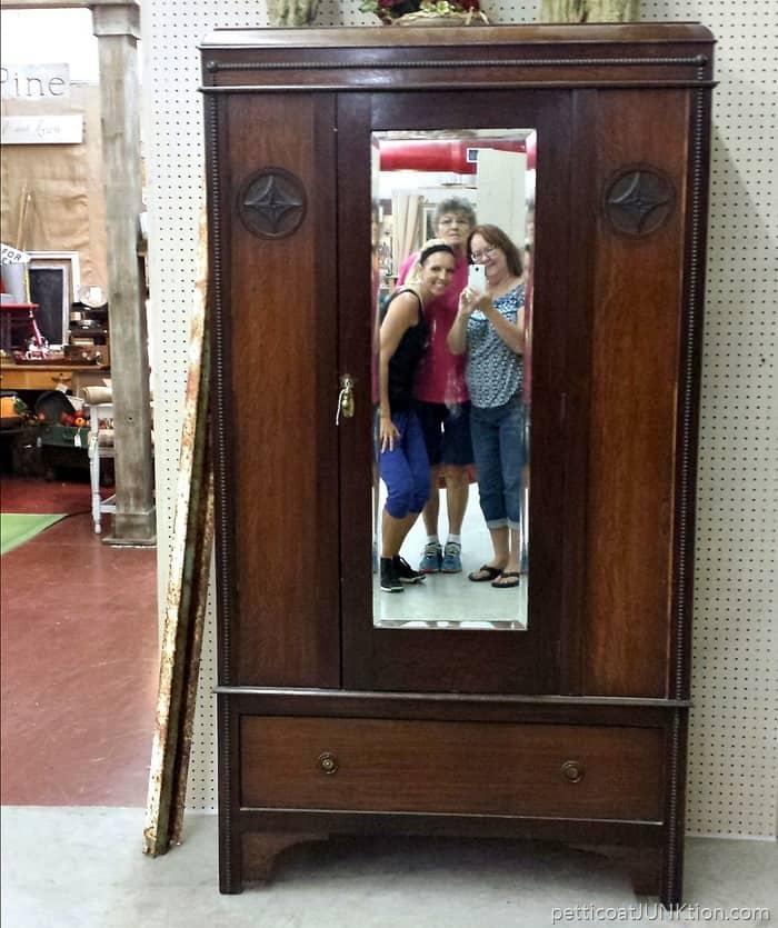 vintage wardrobe An Antique Shop In Texas
