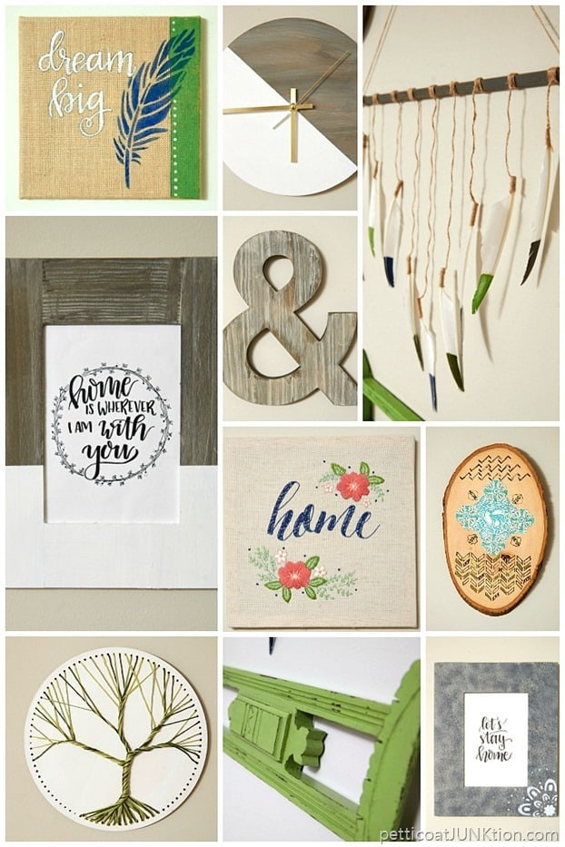 10 DIY Gallery Wall projects