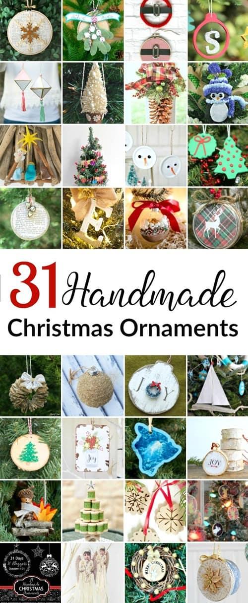 31 Handmade Christmas Ornament from 31 Days of Handmade Christmas Ornaments BLOG HOP