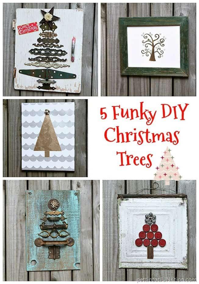 5 funky diy trees