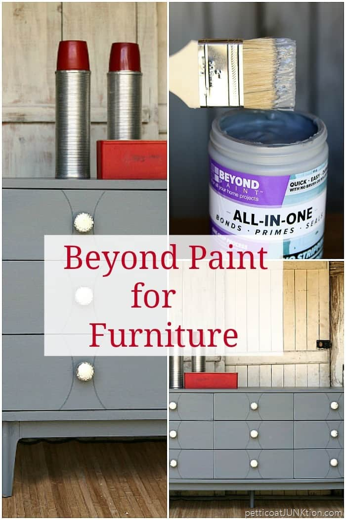 Beyond Paint for furniture and cabinets Petticoat Junktion project