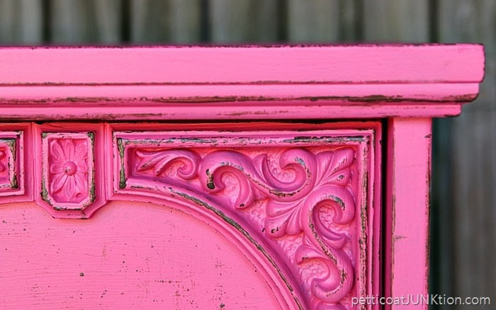 Fake A Distressed Layered Paint Look On Mdf Furniture