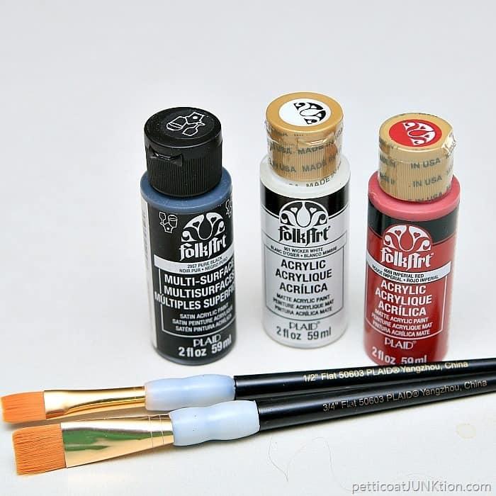 FolkArt Multi-Surfaces Satin Acrylic Paint