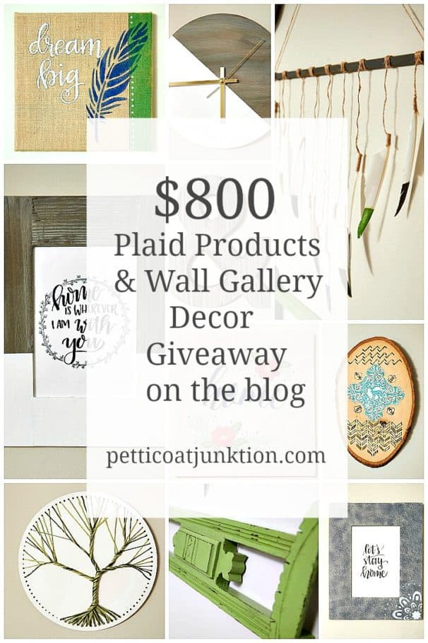 Wall Gallery and Plaid Products Giveaway