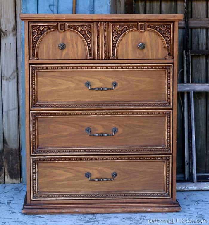 Furniture Chest Before Makeover