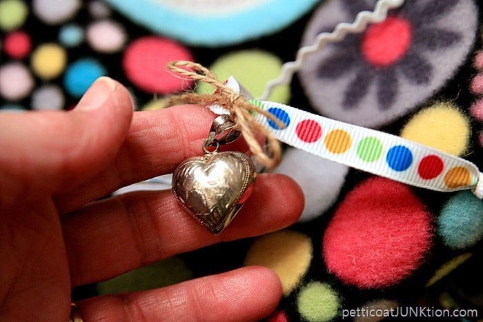 sterling silver heart for moms busy blanket