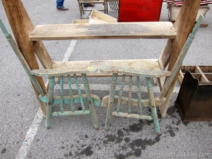 the chair parts are too cool but too expensive from the Nasvhille Flea Market