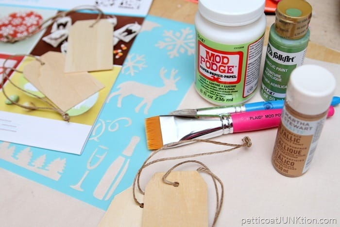 Martha Stewart Crafts Stencil project