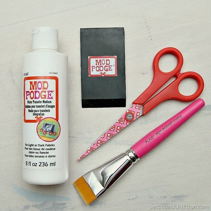 Photo Transfer supplies from Mod Podge