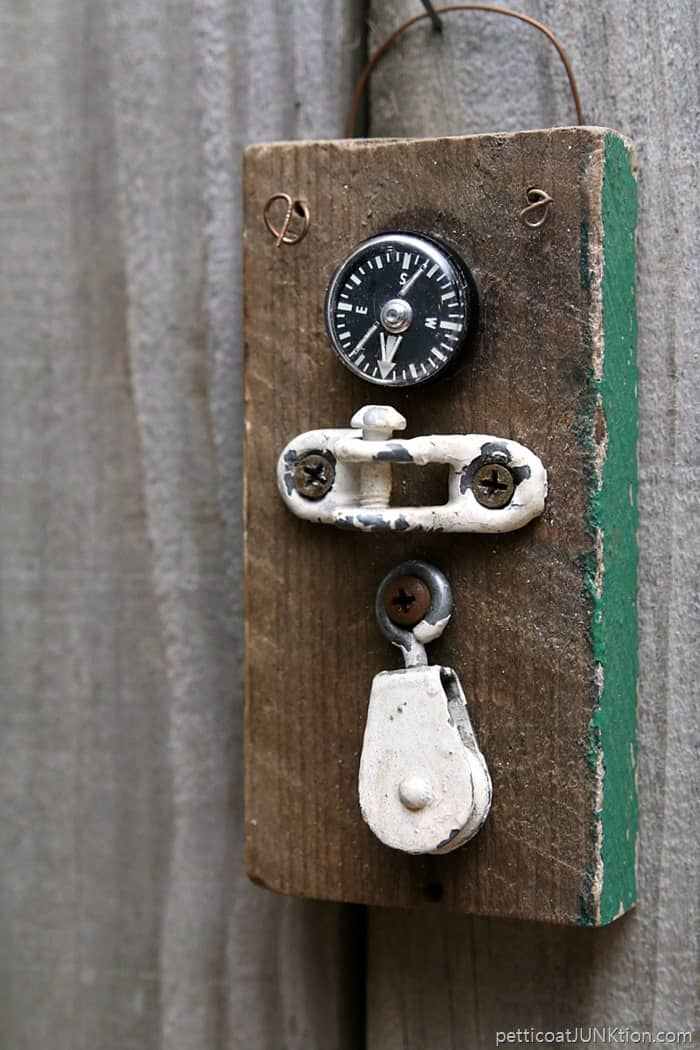 compass person steampunk art