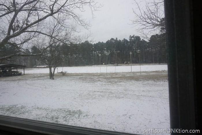 Arkansas January 2017 snow