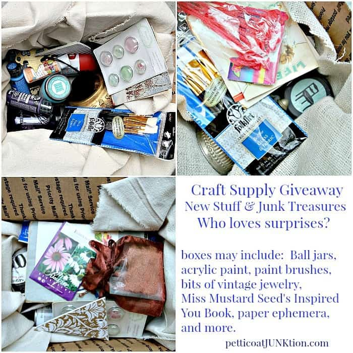 craft supplies goodie box giveaway