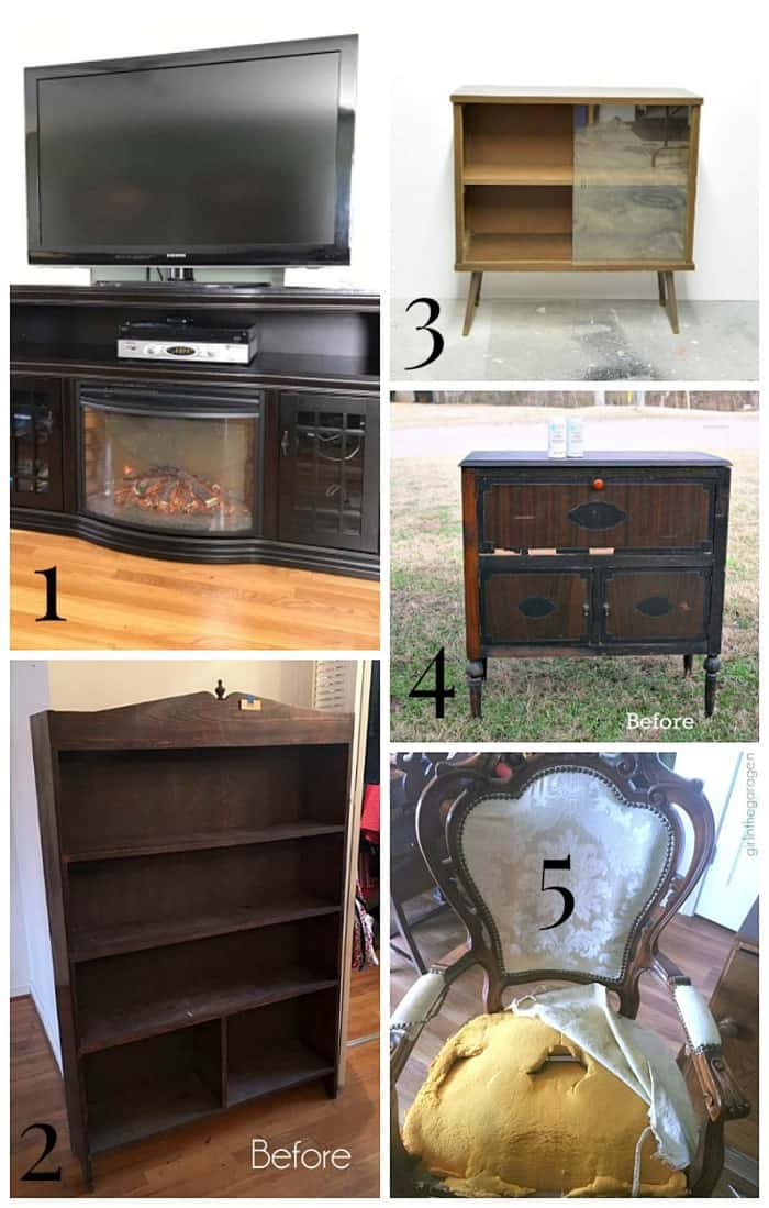 Furniture Fixer Uppers Before Project Makeover Photos January