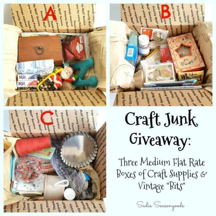 Sadie Seasongoods Craft Junk giveaway