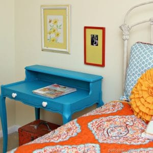 Vibrant Navajo Blue Paint Color Is A Winner