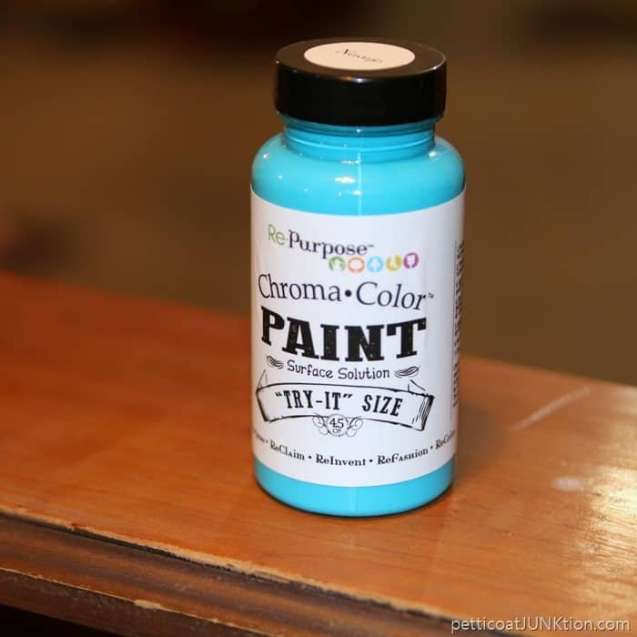 chroma color paint Navajo blue color for furniture project