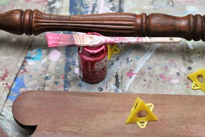 make furniture repairs before painting
