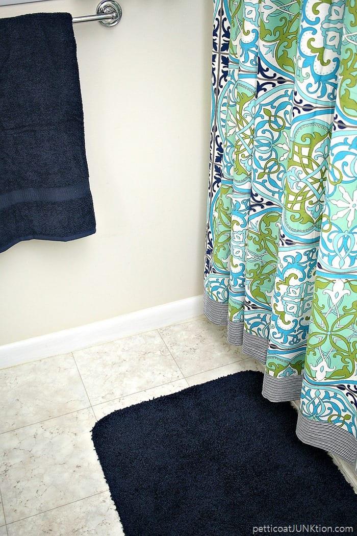 shower curtain from World Market Gabriella style