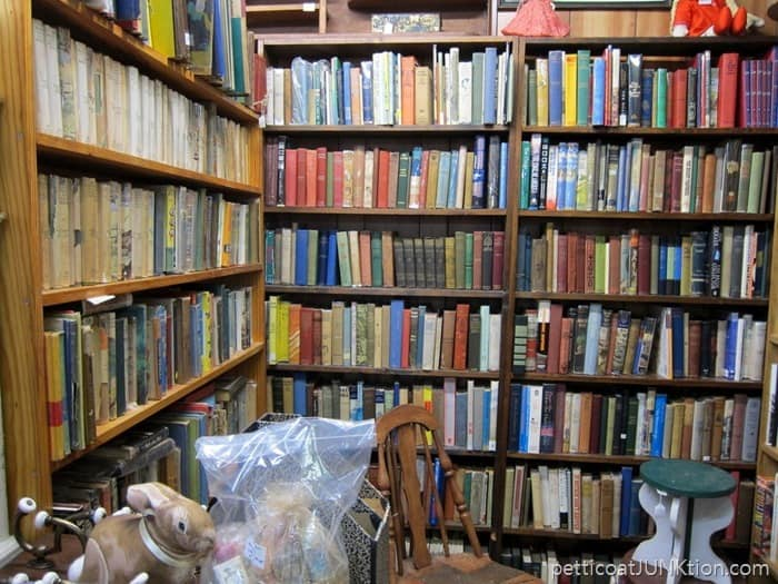 vintage and antique books