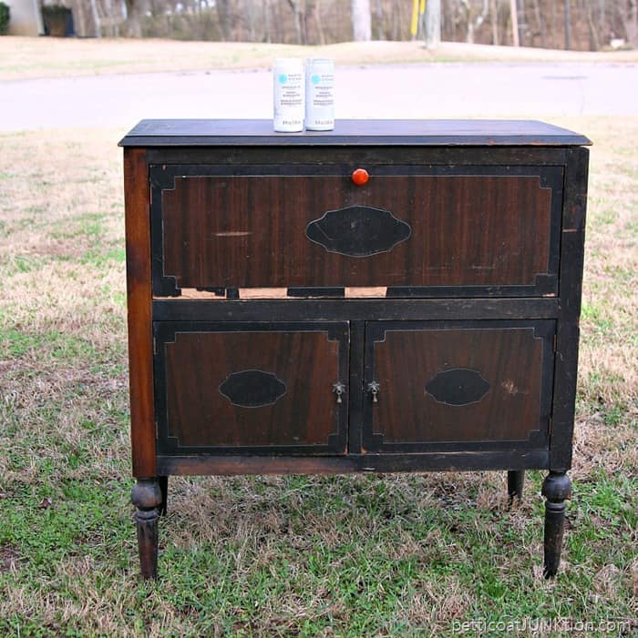 Exceptional Vintage Radio Cabinet Project Beverage Cabinet