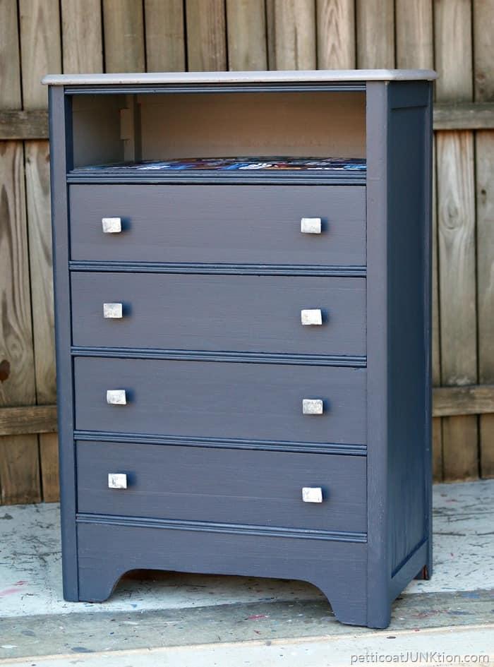 Budget Furniture Knobs inspired furniture makeover