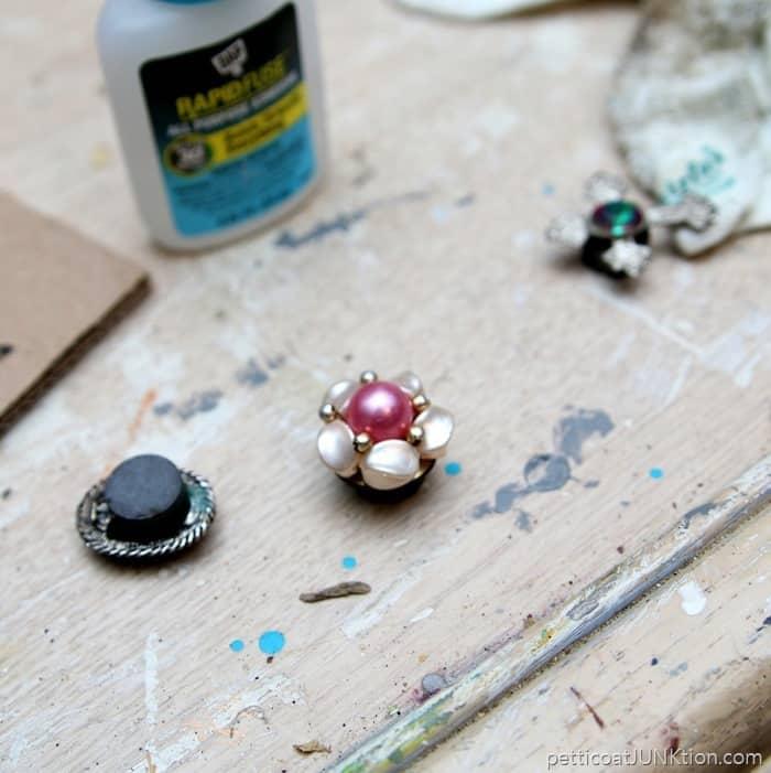 DAP RapidFuse to make jewelry magnets