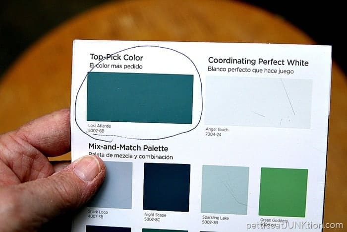 Lost Atlantis Valspar paint color 2