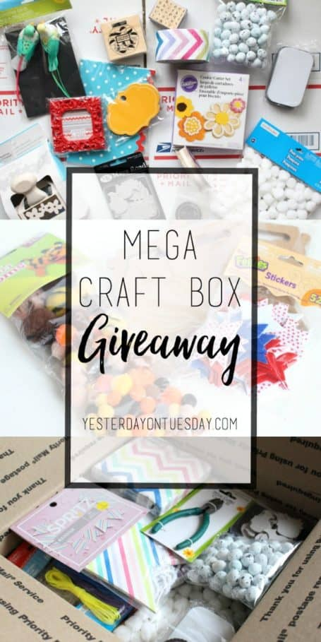 Mega-Craft-Box-Giveaway from Yesterday on Tuesday