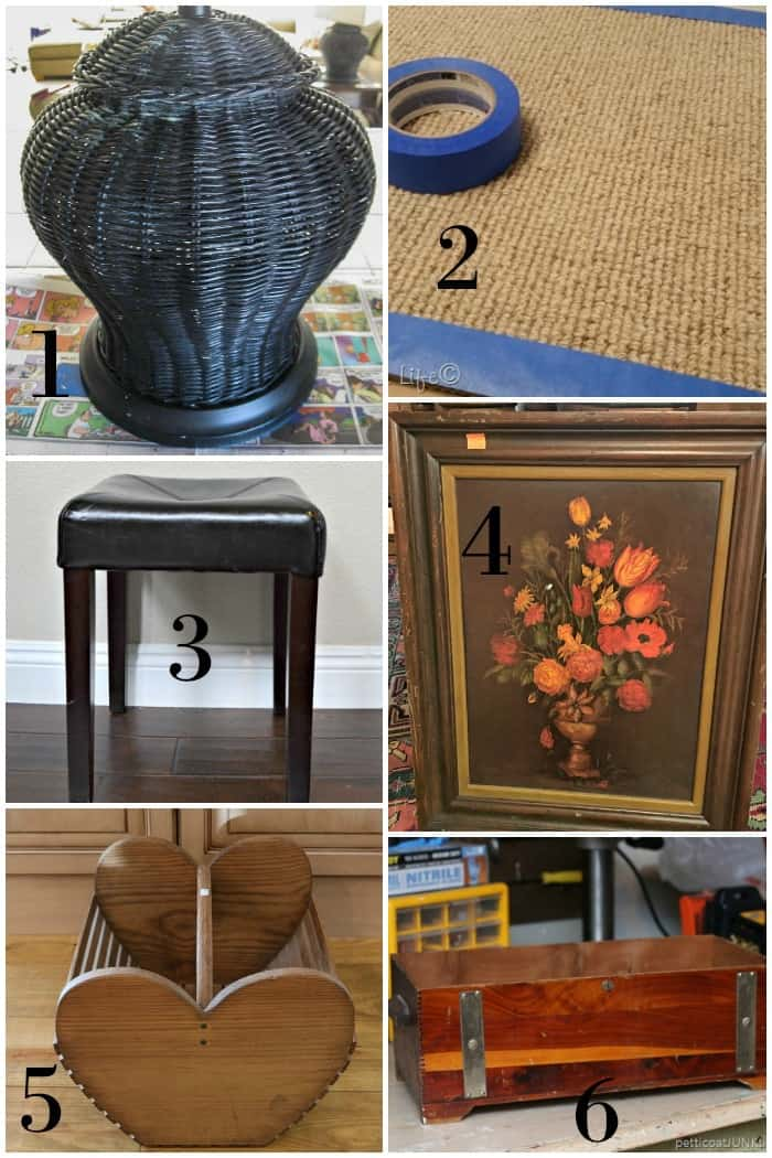Thrift store decor makeovers before photos