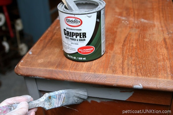 Yes I use primer as a top coat Glidden Gripper tinted Gray