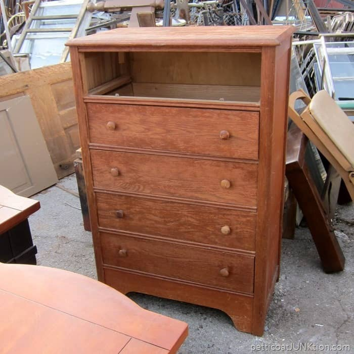 chest of drawers project