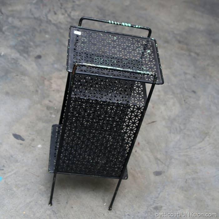 nice iron telephone stand