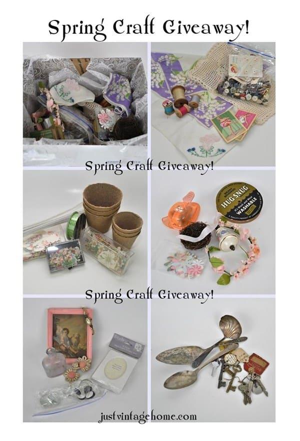 spring-craft-giveaway Just Vintage Home