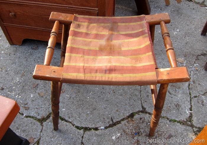 stool needs repairs