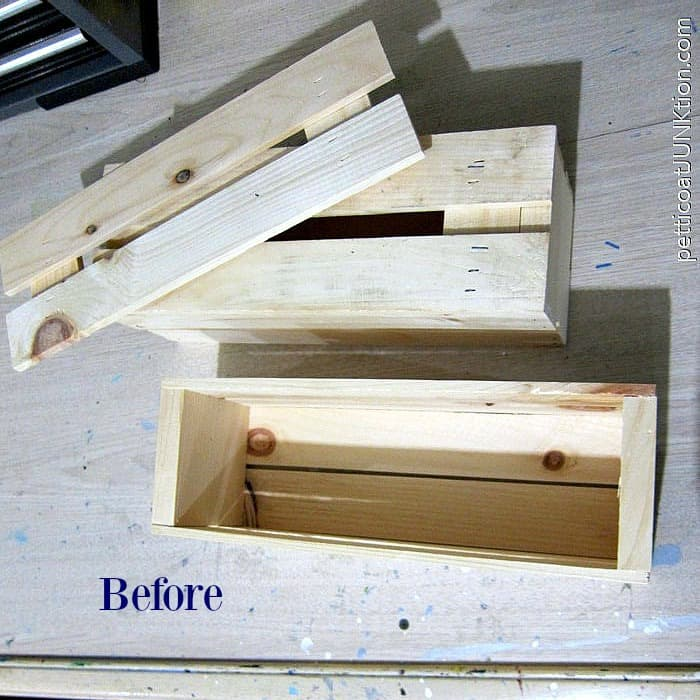wood wine crates for project. before photojpg