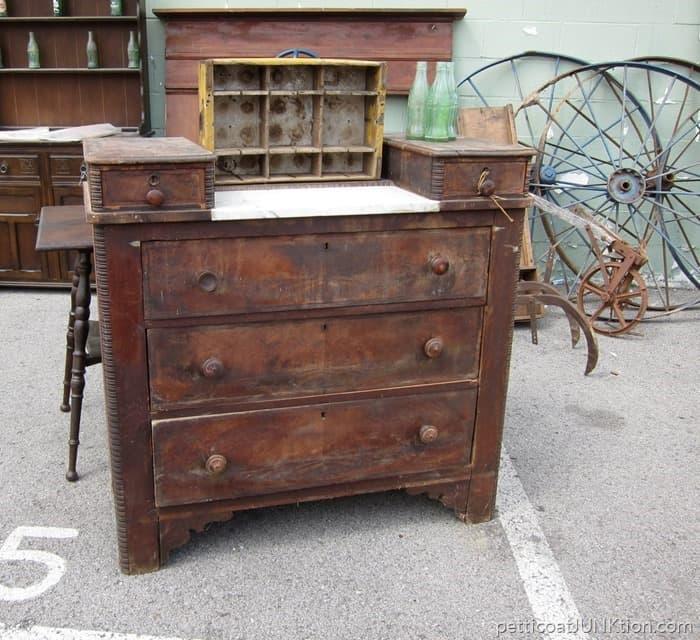 Antique Furniture at the Nashville Flea Market 7