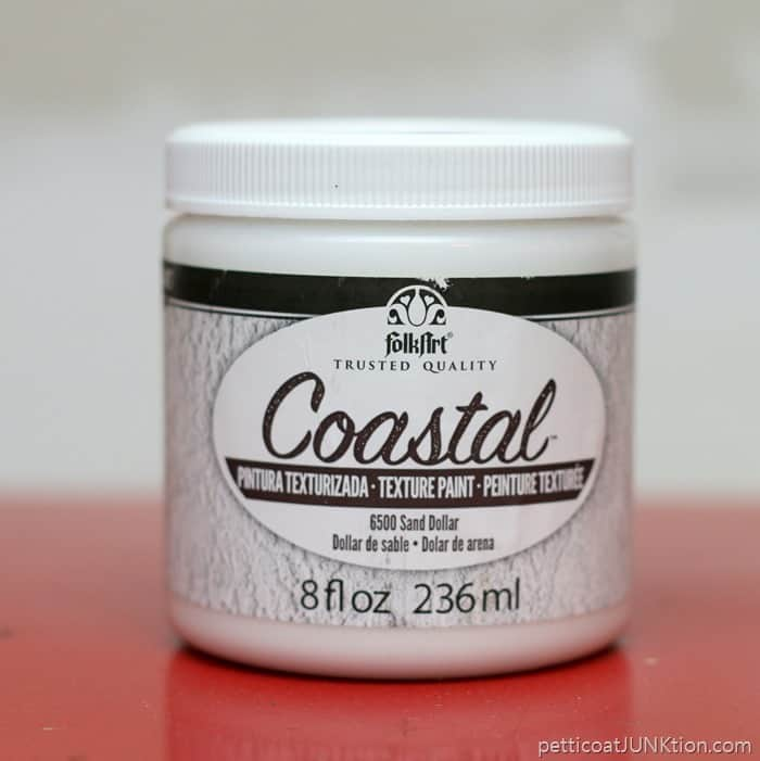 FolkArt Coastal Texture Paint color Sand Dollar