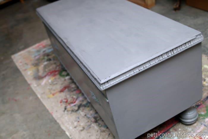 Glidden primer before painting cedar chest