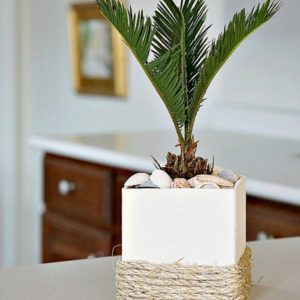 Sisal Rope Planter Brings A Bit Of Florida Home