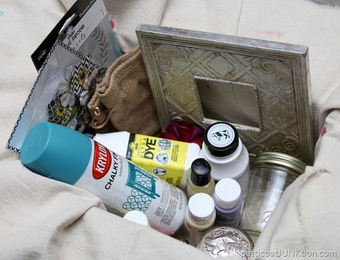 Spring Craft Supplies Junk Treasures Giveaway from Petticoat Junktion