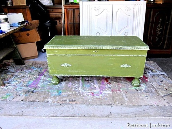boxwood cedar chest