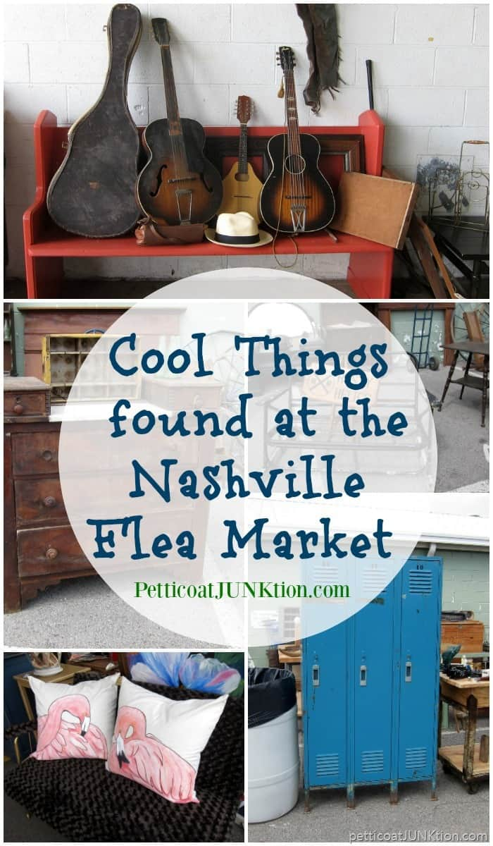 cool things found at the Nashville Flea Market by Petticoat Junktion