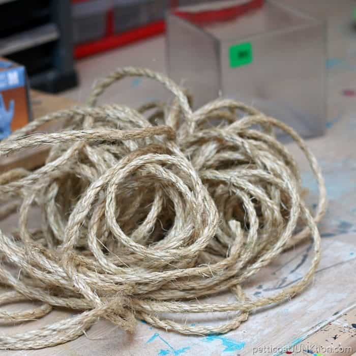 sisal rope for diy project