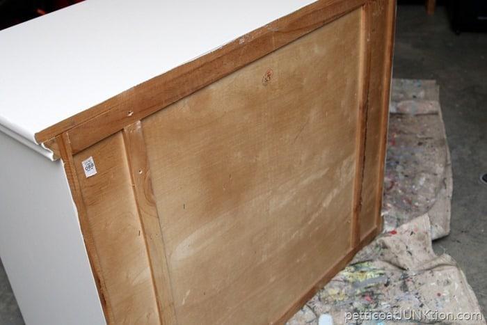wood back