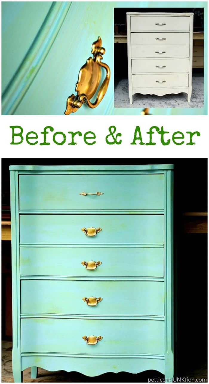 Add Depth To Turquoise Furniture With A Touch Of Green