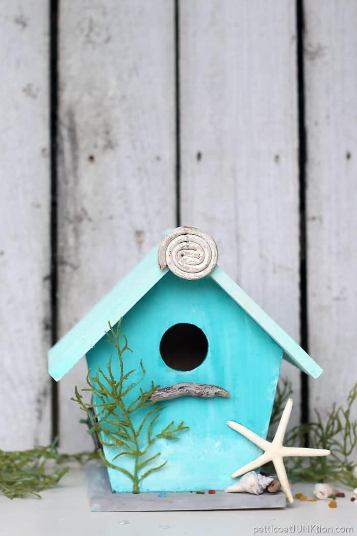 Beach Lover Birdhouse Project